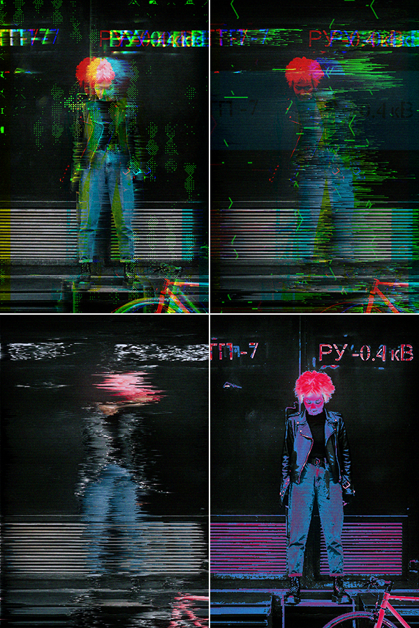 Animated Glitch 2 - Photoshop Action - 5