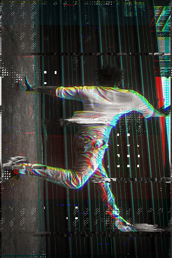 Animated Glitch 2 - Photoshop Action - 23