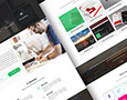 Free Creative Agency Web Design PSD on Behance