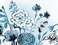 Spring Frost Floral