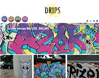The Drips website project