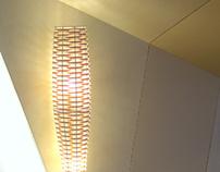 Lightweave Radial Floor Light