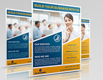 Corporate Business Flyer Template Vol.20