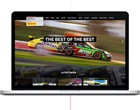 Porsche GT Website Design