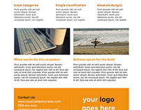 Clean Promotional Corporate Flyer