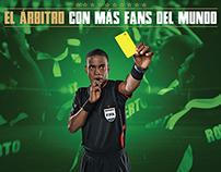 ARBITRO FANS - El árbitro con más fans del mundo