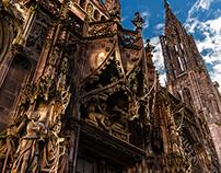 Cathedral of Strasbourg, Alsace, France
