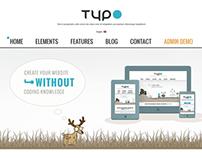 TYPO MuIti-Purpose WordPress Theme