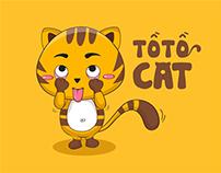 ZINGME sticker: Tồ Tồ Cat
