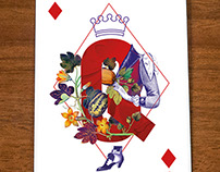 Playing cards for KUKBUK, a high-end culinary magazine