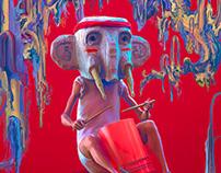 Drum Buddy - Illustration