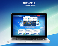 Icons of Turkcell Superonline Corporate Website