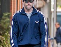 Chappie Movie Hugh Jackman Adidas Firebird Track Jacket
