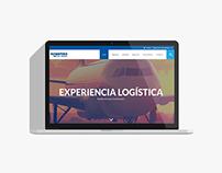Europartners Website Concept.