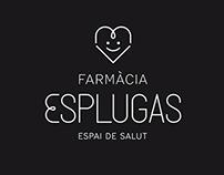 Farmàcia Esplugas brand identity