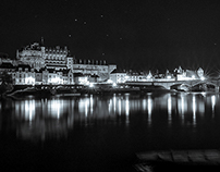 Cities in night