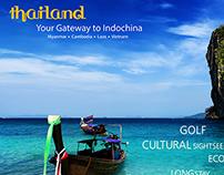 Travel Brochure & Poster Design