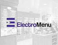 ElectroMenu Visual Identity Development