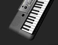 Yamaha entry keyboard
