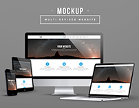 Multi Devices Display Mockup