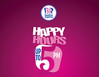 Happy Hours | Baskin Robbins