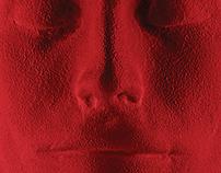 Афиши для спектакля «Красный»