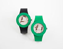 The First-Ever Living Watch is a Wearable Ant Farm