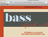 HTML Email: Bass event