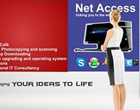 Net Access banner design