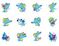 ZALO sticker/ animated emoticon