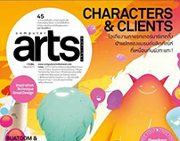 Computer Arts Thailand Issue 45: CHARACTERS & CLIENTS