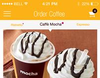 Casa Coffee - Concept IOS 7 coffee app