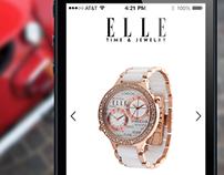 ELLE Time & Jewelry App