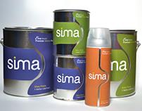 Sima Paint   Package & Branding