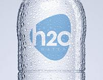 H2O Water Company Brand