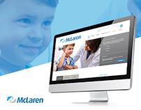 McLaren: Website Redesign