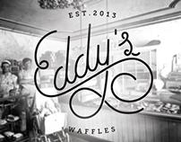 Eddy's Waffles logo