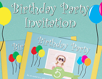 Birthday Party Invitation - 01