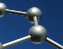 alltech molecule sculpture