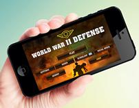 World War II Defense IOS game