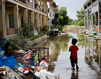 Flood Victims. Relief Effort.