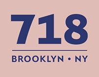 718® A typeface family from the real New York.