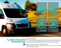 Shunda Express Website Design
