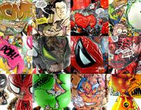 Comic Stripped Series
