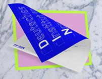 FF DIN - Promotional Poster