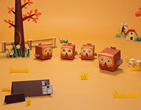 Dioramas created for Cannes Lions Intl. Festival