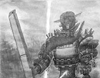 SotC Fan Art - Boss 3 - Gaius