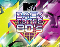 MTV Print Ads for 80's Party
