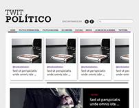 Twit Político Website