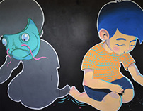 Muro múltiple - Inside wall painting